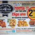 MIÉRCOLES Y JUEVES PICOTEA, POR TAN SÓLO 2 EUROS!!!!!!!